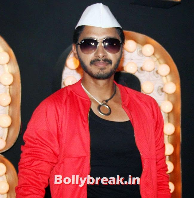 Shreyas Talpade, Pooja Sawant at Poshter Boyz Song Shoot
