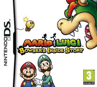 Mario & Luigi: Bowser's Inside Story, NDS, Español, Mega, Mediafire