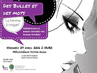 Des Bulles et Des Mots, qu'est-ce ?; médiathèque; interview; saint dié; victor higo; mots; bulles;