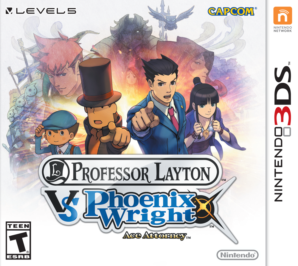 Download 3DS CIAs: Professor Layton vs  Phoenix Wright: Ace