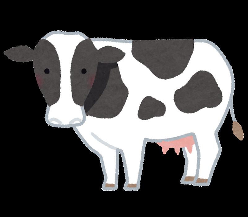 乳牛ホルスタインのイラスト かわいいフリー素材集 いらすとや