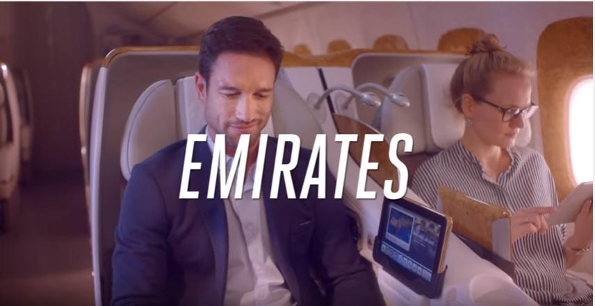 Canzone Pubblicità Emirates Business Class | B777 | Luglio 2016