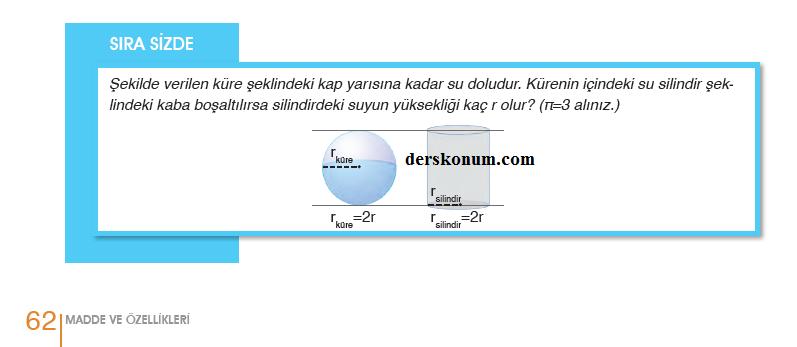 9sinif Fizik Ders Kitabi Cevaplari Meb Yayinlari Sayfa 62 Ders
