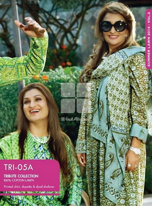 Gul Ahmed Mother's Day Collection 2014 - Tribute Collection