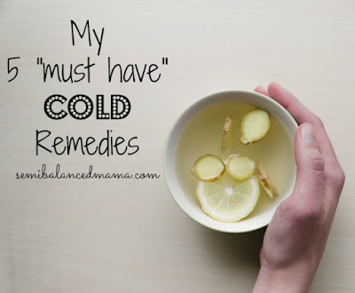 natural ways to cure a cold