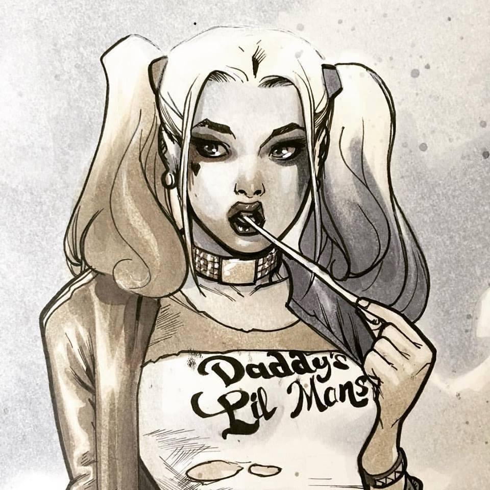 Harley Quinn: los mejores dibujos de la personaje de DC (Video)