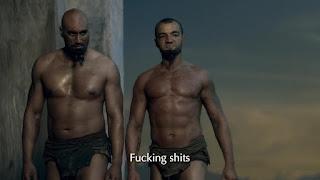 AusCAPS: Manu Bennett and Antonio Te Maioha nude in