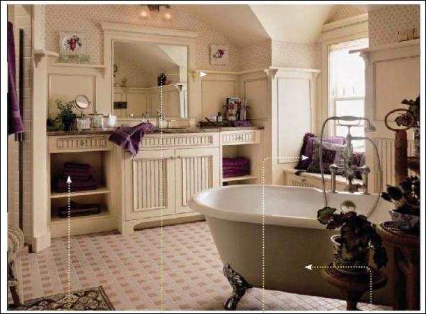 English Country Bathroom Design Ideas - Home Design