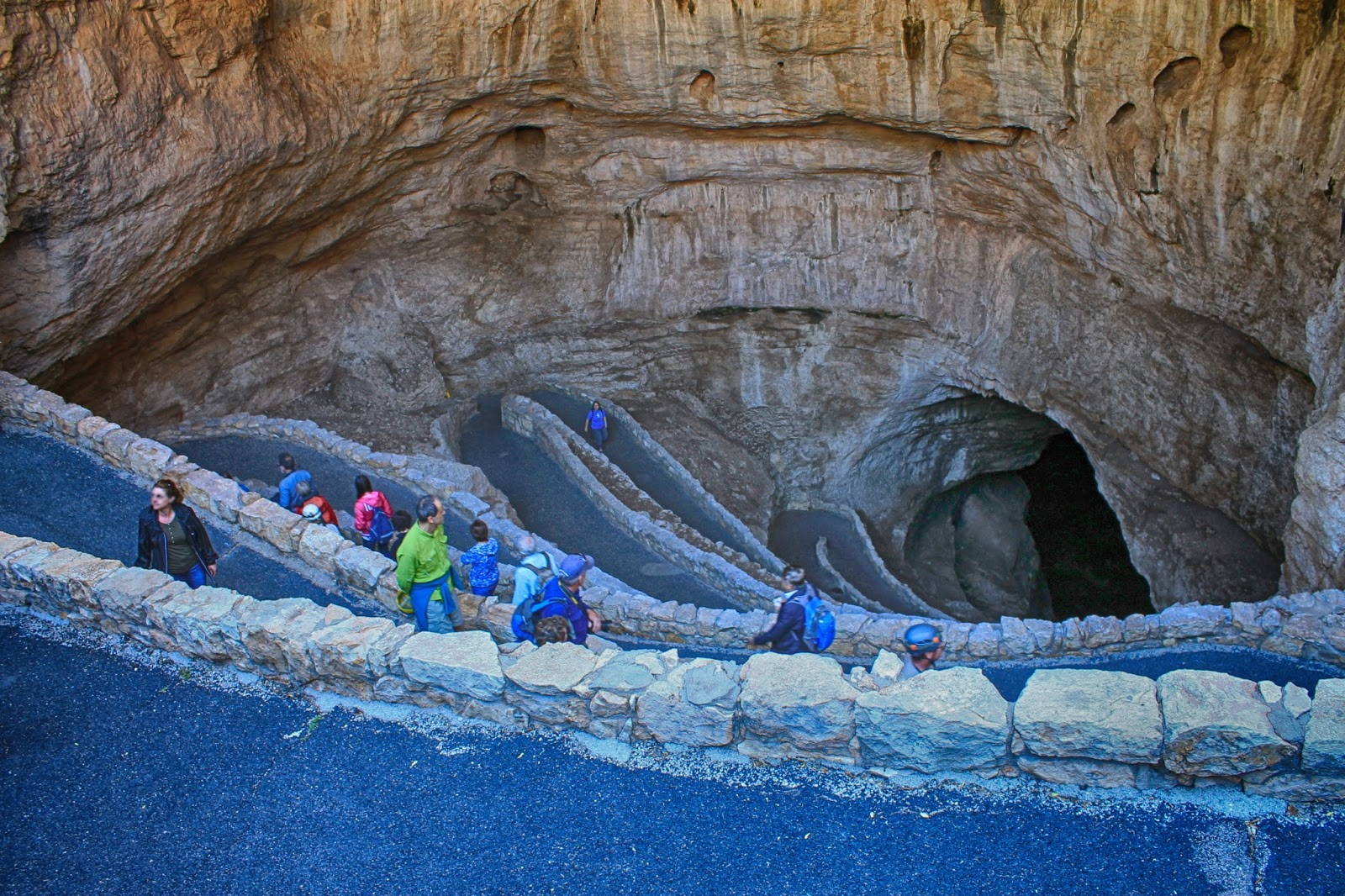 Carlsbad Caverns National Park New Mexico caves geology reef spelunking explore travel trip copyright rocdoctravel.com