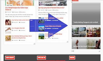 slider recent post blogspot