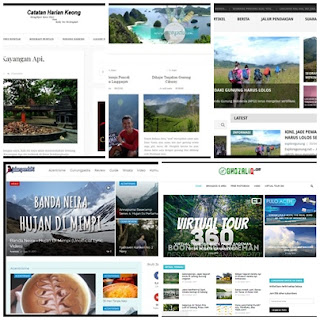 10 blog pendaki gunung