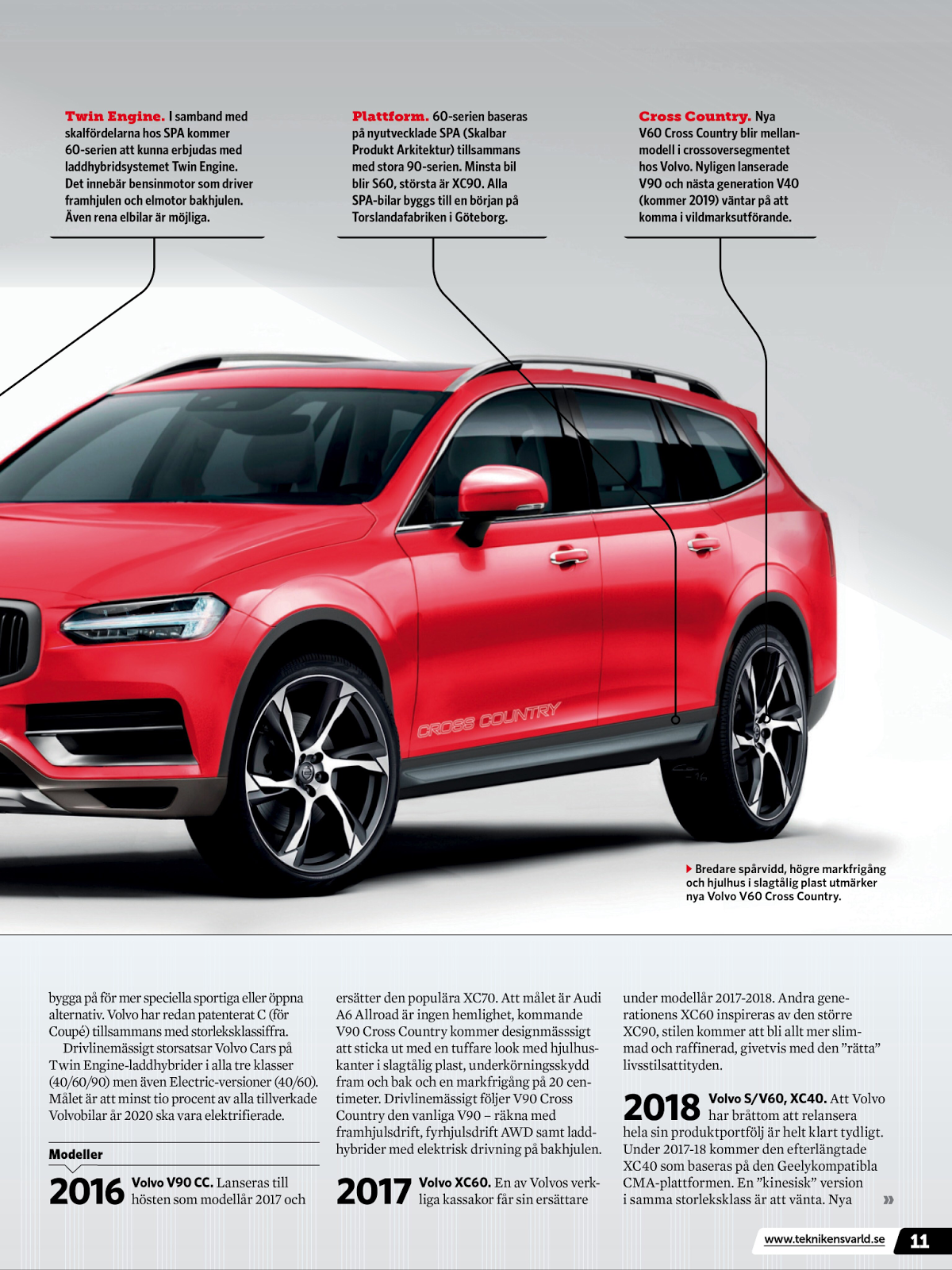 My World Of Volvo Volvo Model Lineup By 2020