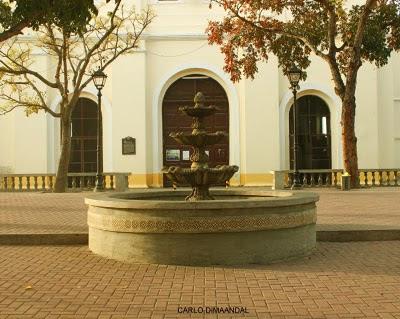 Basilica dela Immaculada Concepcion Fountain