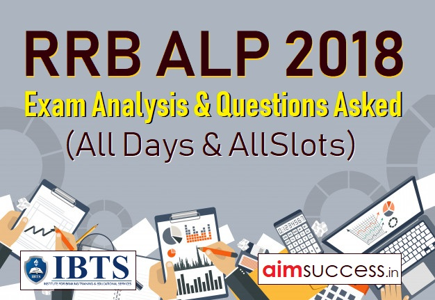 RRB ALP 2018 Exam Analysis & Questions Asked (All Days & Slots)