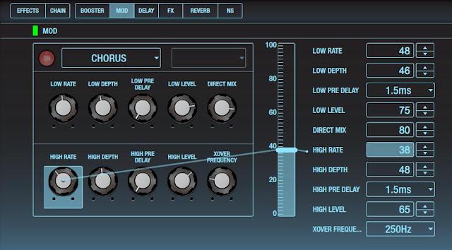 Phần mềm BOSS Tone Studio cho dòng ampli Katana