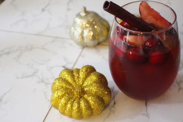 Cocktail d'automne: Sangria d'automne