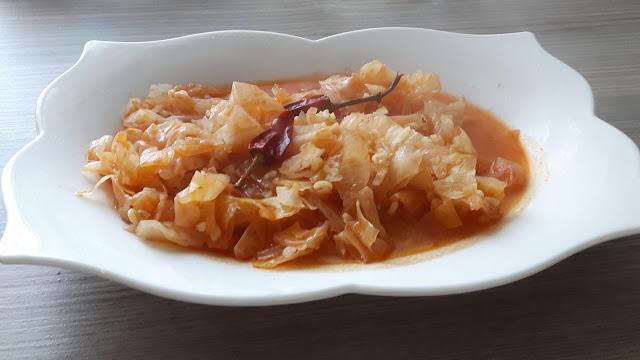 lahana turşusu  yemeği kapuska