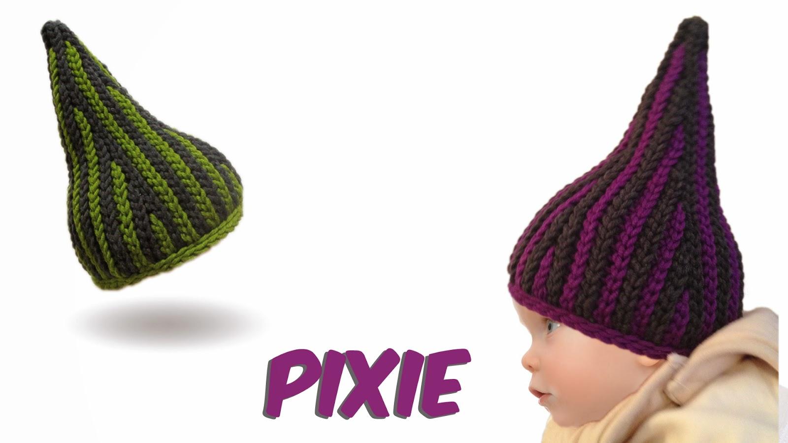 Monk Wolle Beanies Pixie Babymütze