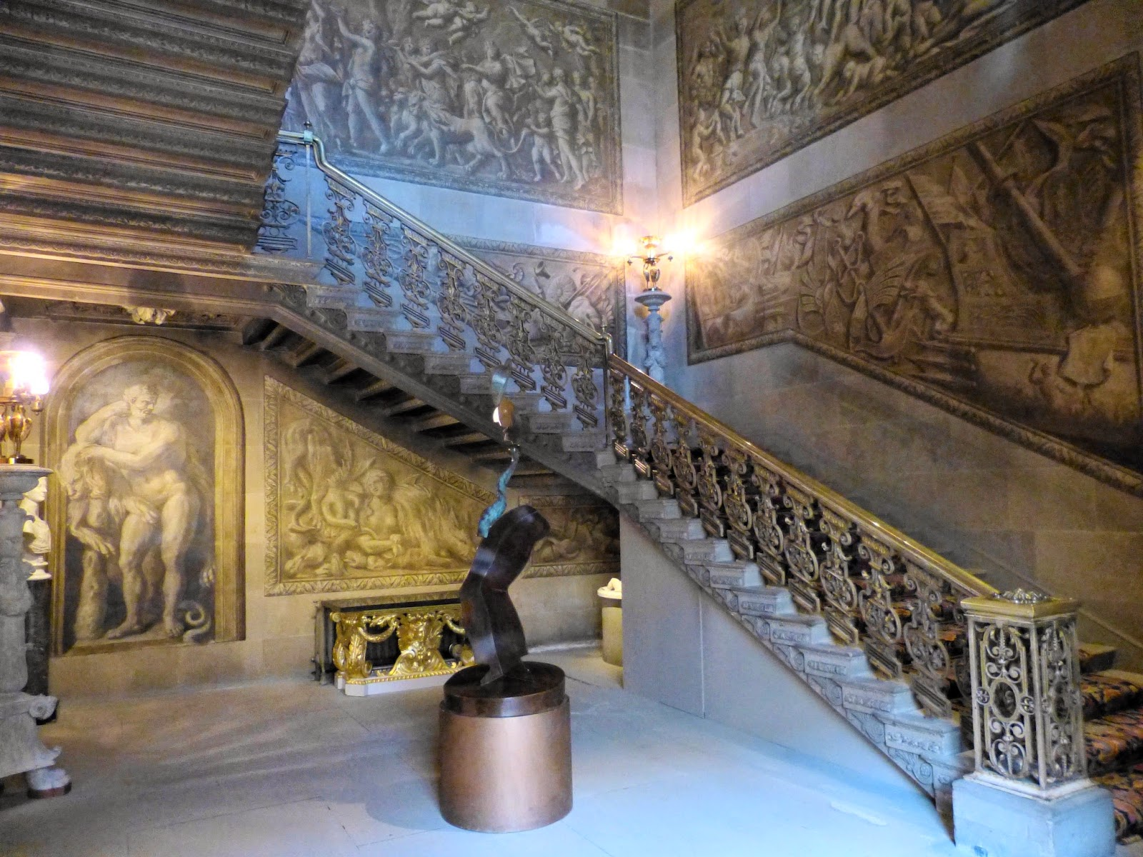 The Great Stairs, Chatsworth