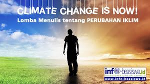 Lomba Menulis tentang Perubahan Iklim