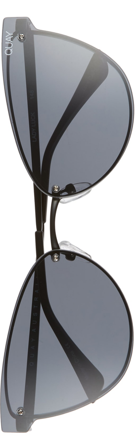 Quay Austalia  Lady Luck 60mm Cat Eye Sunglasses