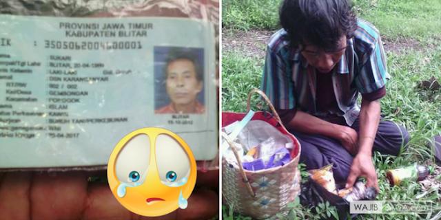 Mencari Putrinya, Pria Paruh Baya Gagap ini Berjalan dengan Kaki Terseok-Seok