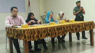 Pro Aktif Babinsa Hadiri Rapat Koordinasi Program kerja Kelurahan Tahun 2019