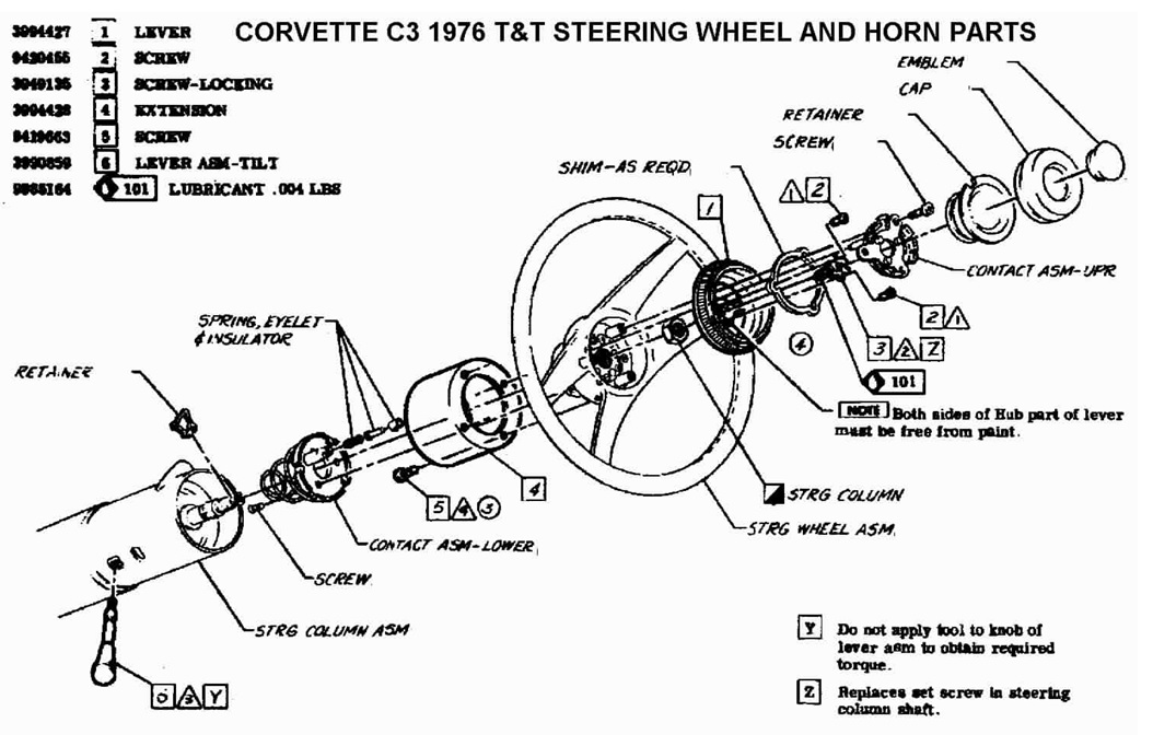 1978 Chevy Truck Steering Column Wiring Diagram • Wiring