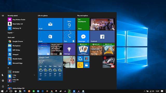 Windows 10 (ringan sih, tapi delay di mana-mana)