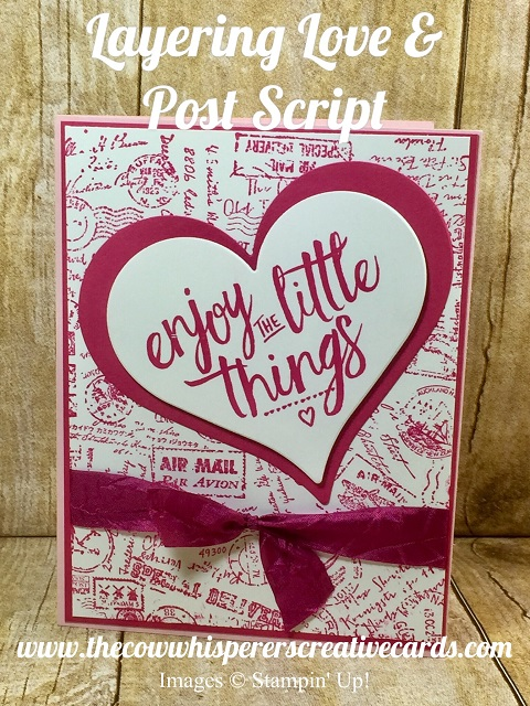 Layering Love, Post Script, Newsletter, Free PDF