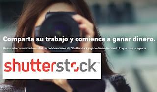 Shutterstock, ganar dinero como colaborador