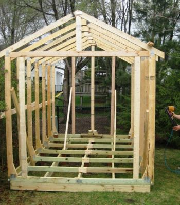 How To Build A Simple Wood Storage Shed How To Build A Simple Wood