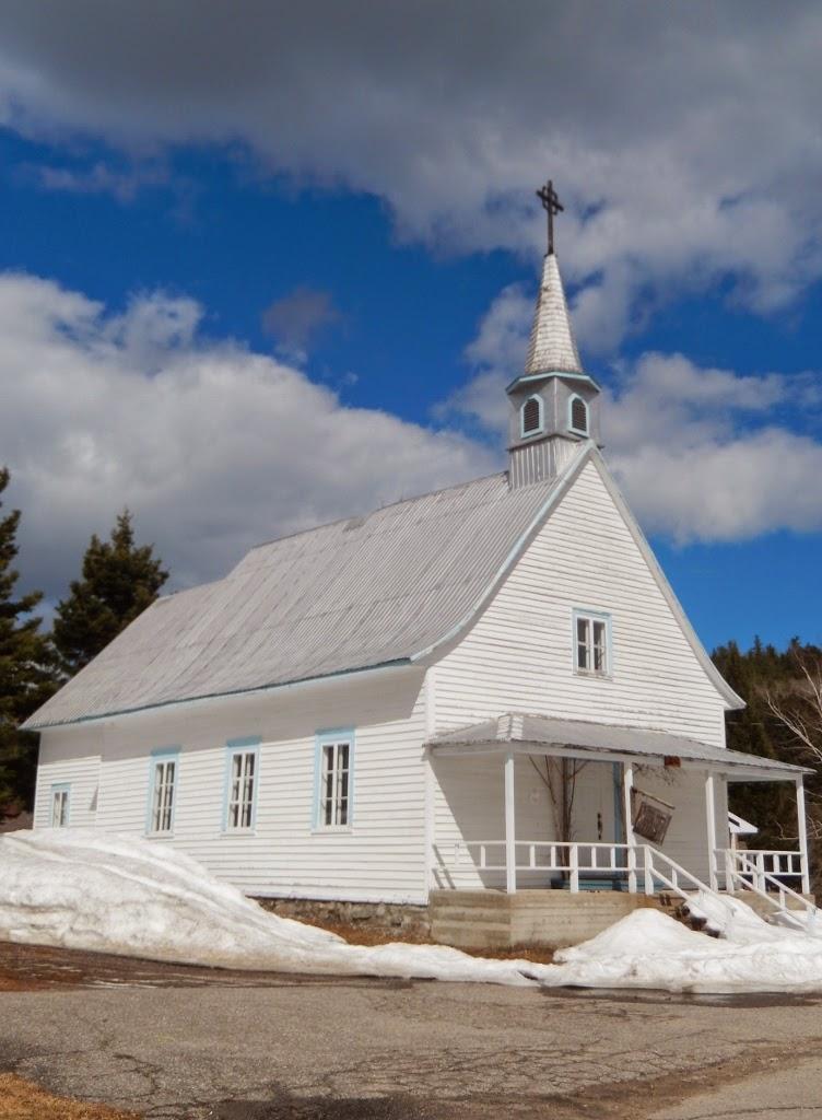 Chapelle de Saint Simeon Baie de Sainte Catherine Québec