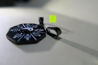 Haken: UM Schmuck Rostfreier Stahl Puzzle Paare Halskette fur Sie und Ihn Tai Chi Yin Yang Teilt Anhanger