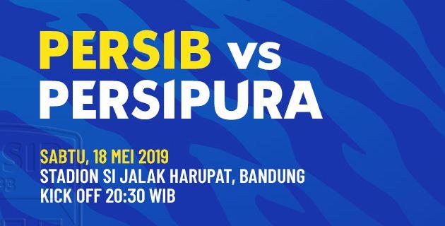 Susunan Pemain Persib Bandung vs Persipura Jayapura