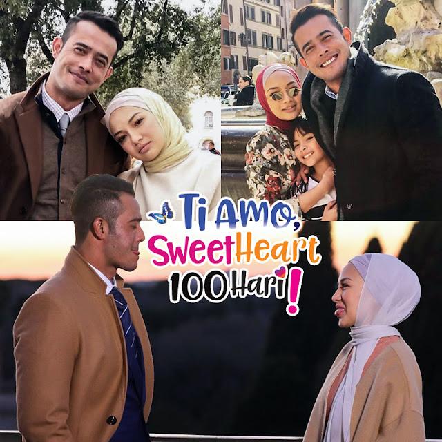 Drama Ti Amo SweetHeart 100 Hari Lakonan Zul Ariffin, Neelofa, Nur Qistina Raisah, Scha Alyahya