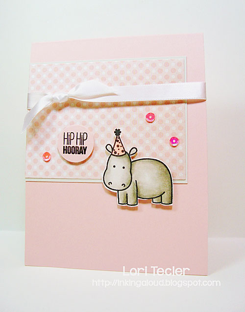 Hip Hip Hooray card-designed by Lori Tecler/Inking Aloud-stamps from Sweet Stamp Shop