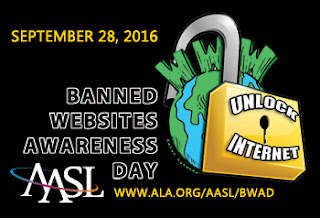 September 28, 2016 Banned Websites Awareness Day