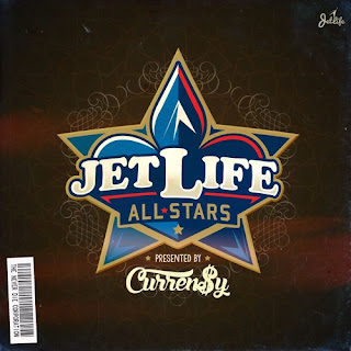 Currensy - Jet Life All-Stars - Album Download, Itunes Cover, Official Cover, Album CD Cover Art, Tracklist