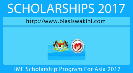 IMF Scholarship Program For Asia 2017
