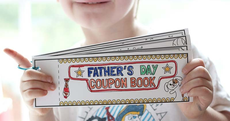 Customizable Father's Day 'Coupons' - Father's Day