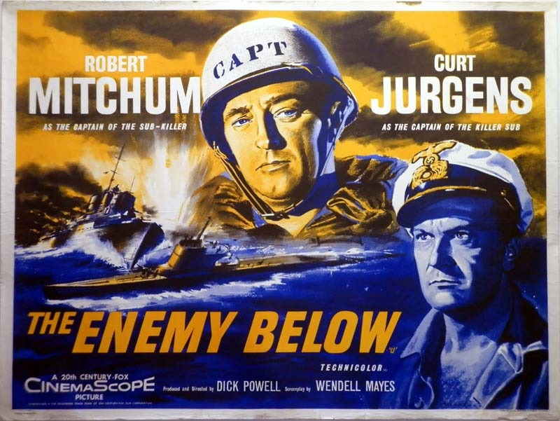 Image result for the enemy below movie