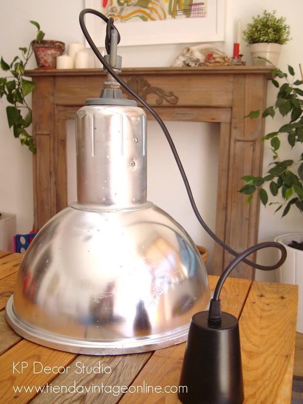 Lámparas industriales de techo para decoración