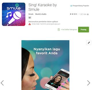 gambar Smule Sing Karaoke