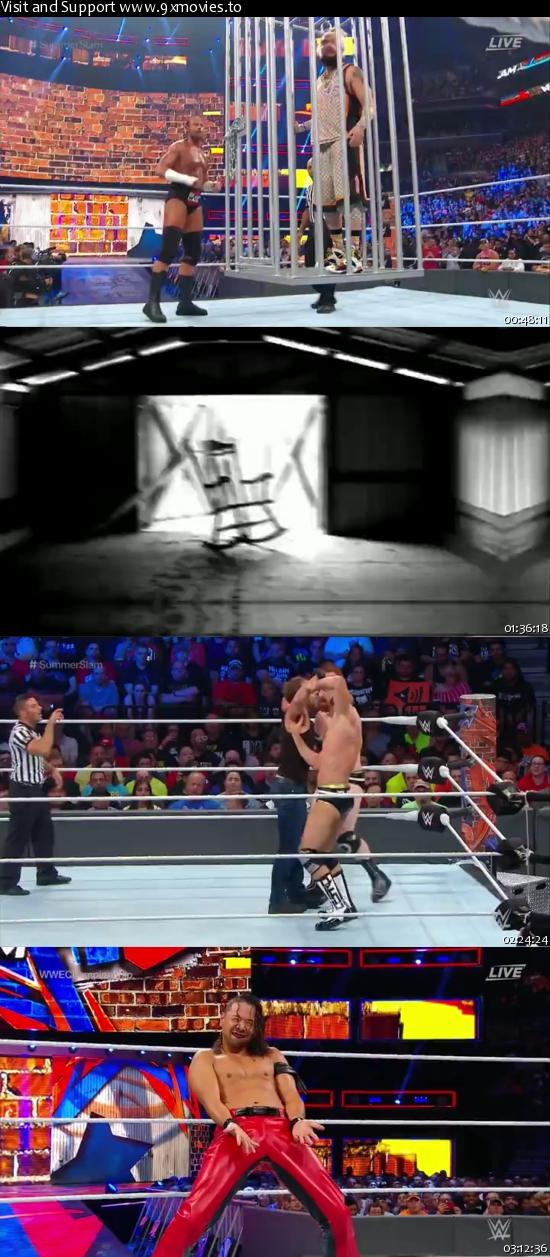WWE SummerSlam 2017 PPV WEBRip 480p