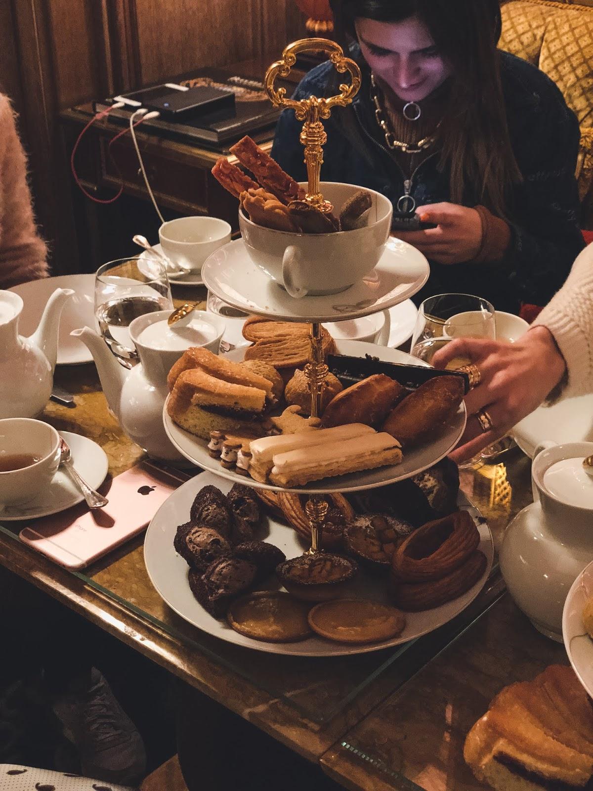 le ritz tea time salon proust