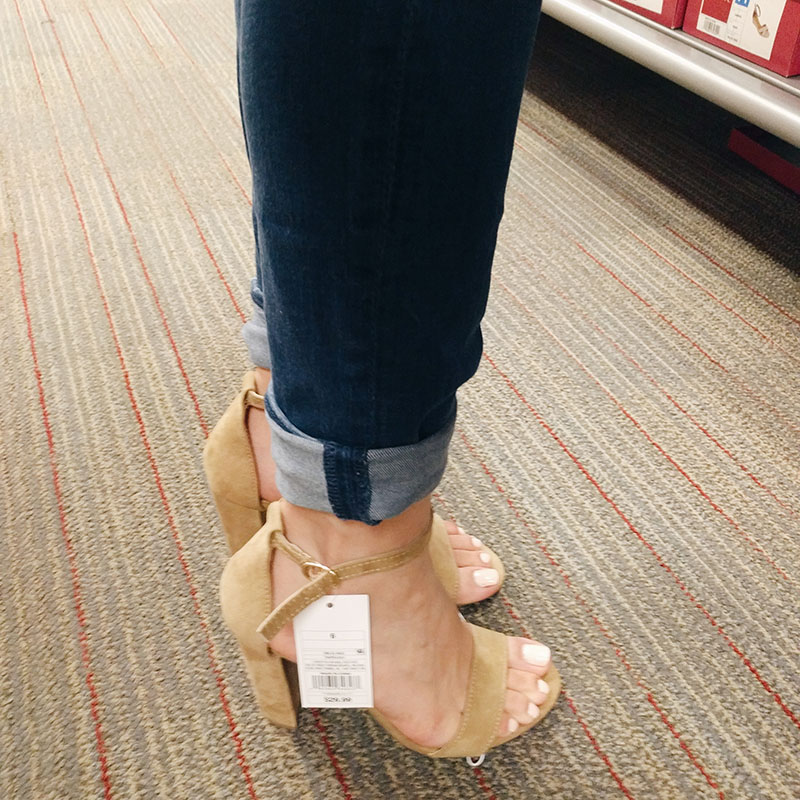 ad38d96b7b Spring/Summer Sandals Under $50 & Target Shoe Try-On | Simply Nancy