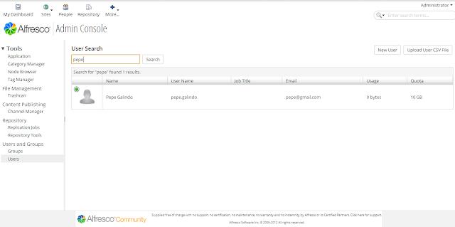 DriveMeca instalando y configurando Alfresco Community paso a paso