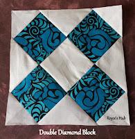 http://roycedavids.blogspot.ae/2016/02/quilt-blocks-double-diamond-block.html