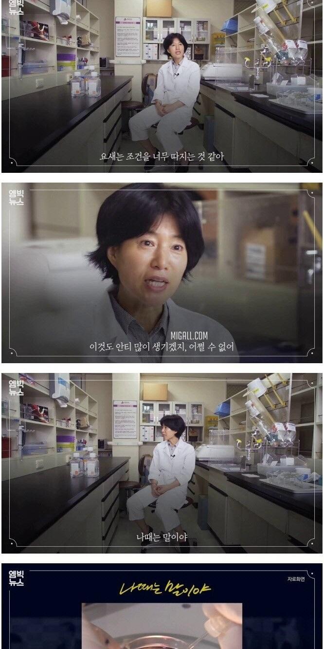 세계 상위 1% 연구자가 된 경단녀